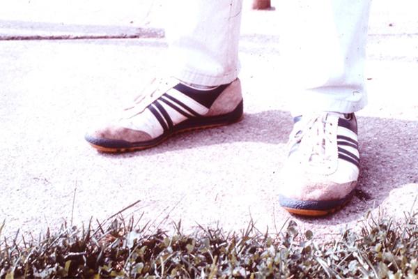 Fußstellung des Rechtsschützen
